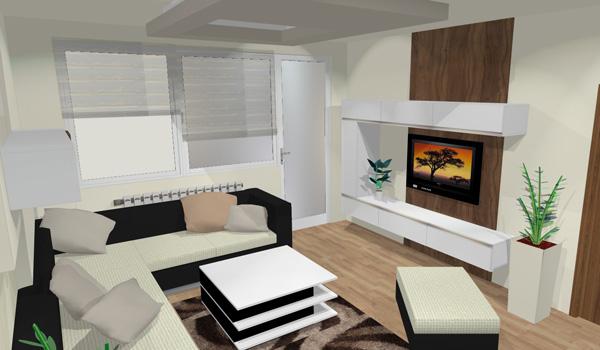 Le Mar Studio Vizualizace Obývací Pokoj